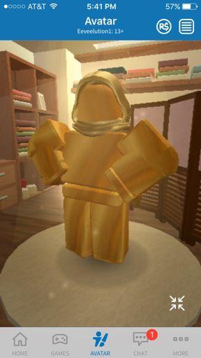 The Golden Robloxian Roblox Amino