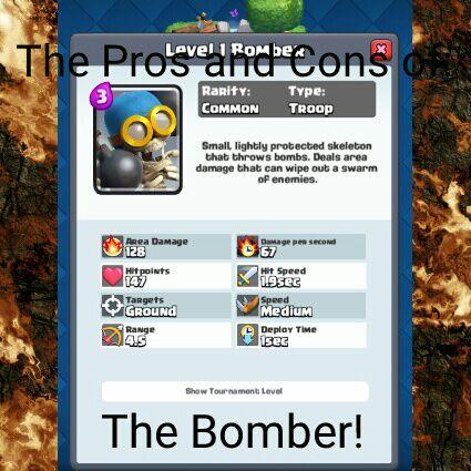 bomber clash royale