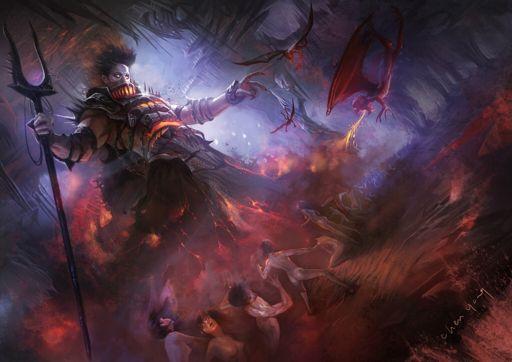 Mythological Weapon Challenge Bident Of Hades Mythology Cultures Amino