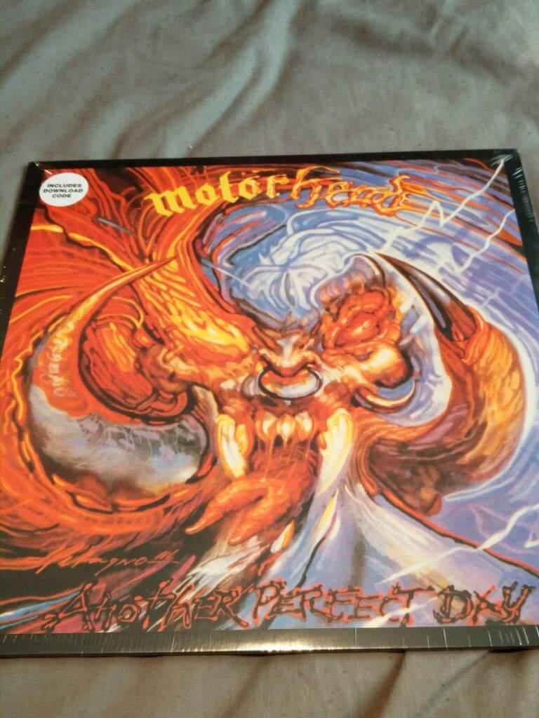 Motörhead another perfect day vinyl | Metal Amino