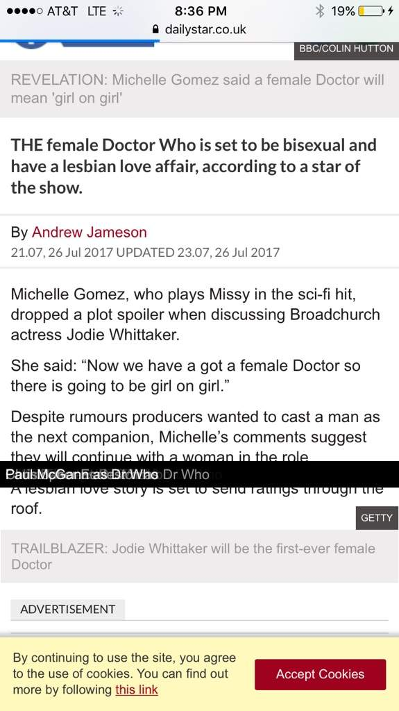 That's my opinion so please don't be insane and get mad at me for being  against a lesbian female doctor. I said I'm against a lesbian female doctor  not a ...