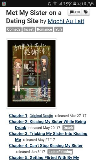 Dating site chapter 1