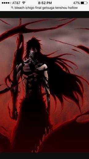 Ichigo Final Getsuga Tenshou Hollow