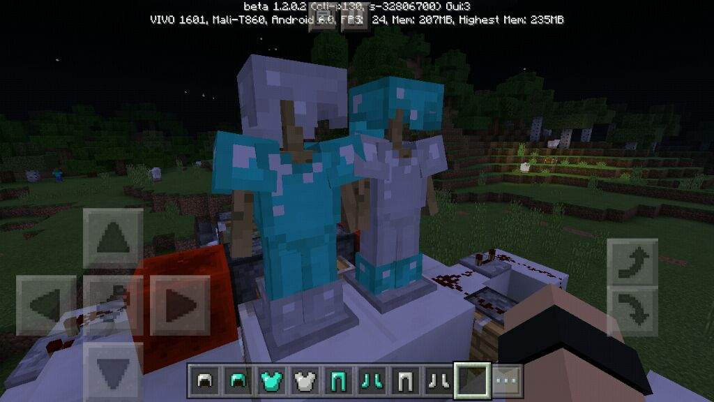 how to make armor stand minecraft