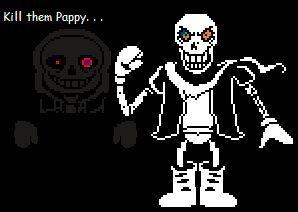 undertale papyrus sprite