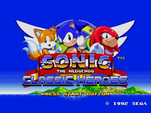 Sonic Classic Heroes Wiki Sonic Universe Amino