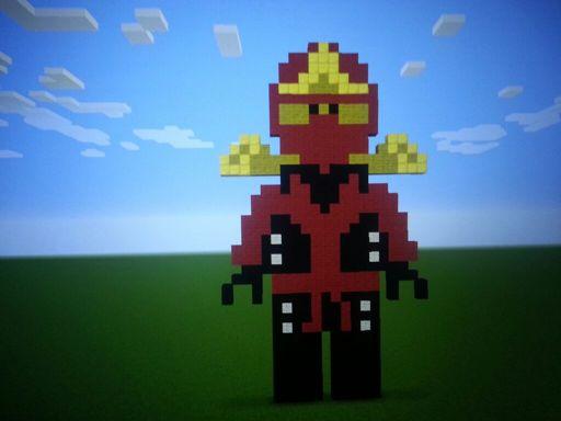 Minecraft Kai Pixel Art Lego Amino