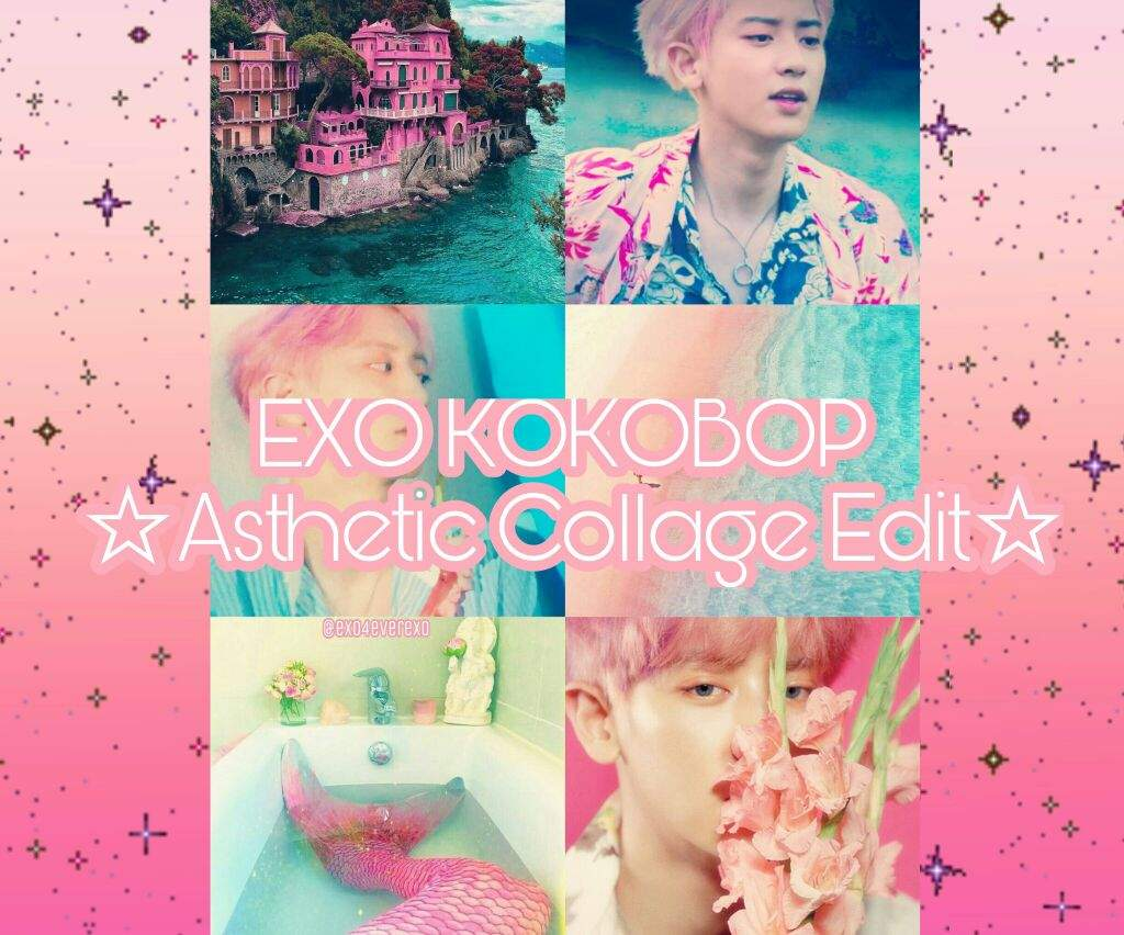 Exo Kokobop Asthetic Collage Edit K Pop Aesthetics Amino
