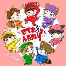 Bts Kartun Bts Army Indonesia Amino Amino