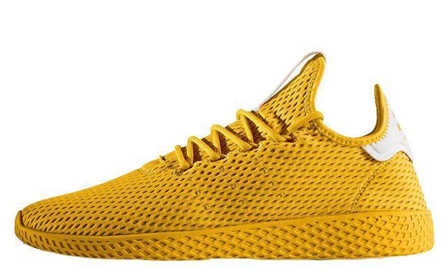 773e79012 Pharrell x adidas Tennis HU Solid Pack Yellow