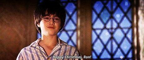 When I say Happy Christmas to Ron | Harry Potter Amino