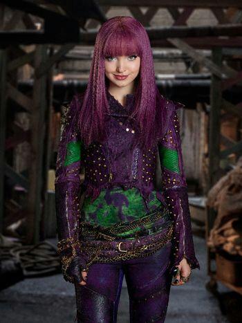 Mal Daughter Of Maleficent Wiki Disney Villains