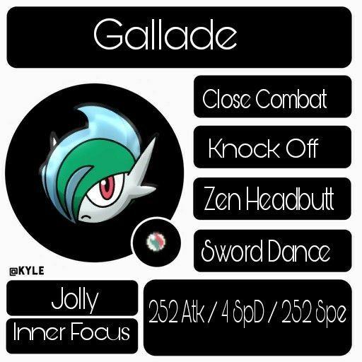 OU Mega Gallade Teambuilder W/Heroic | Pokémon Amino