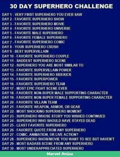 30 Day Marvel Challenge Day 15 | Marvel Amino
