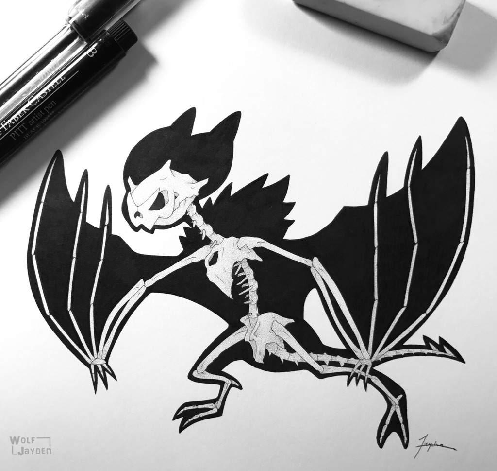 pokemon noivern coloring pages   Noivern Skeleton   Pokémon Amino