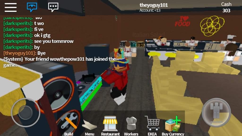 Playing Restaurant Tycoon! #2   Roblox Amino