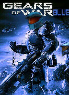 gears of war blue rvb game crossover not for the contest thing