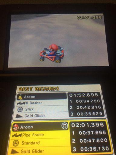 One Hand Challenge In Mario Kart 7 Mario Kart Amino