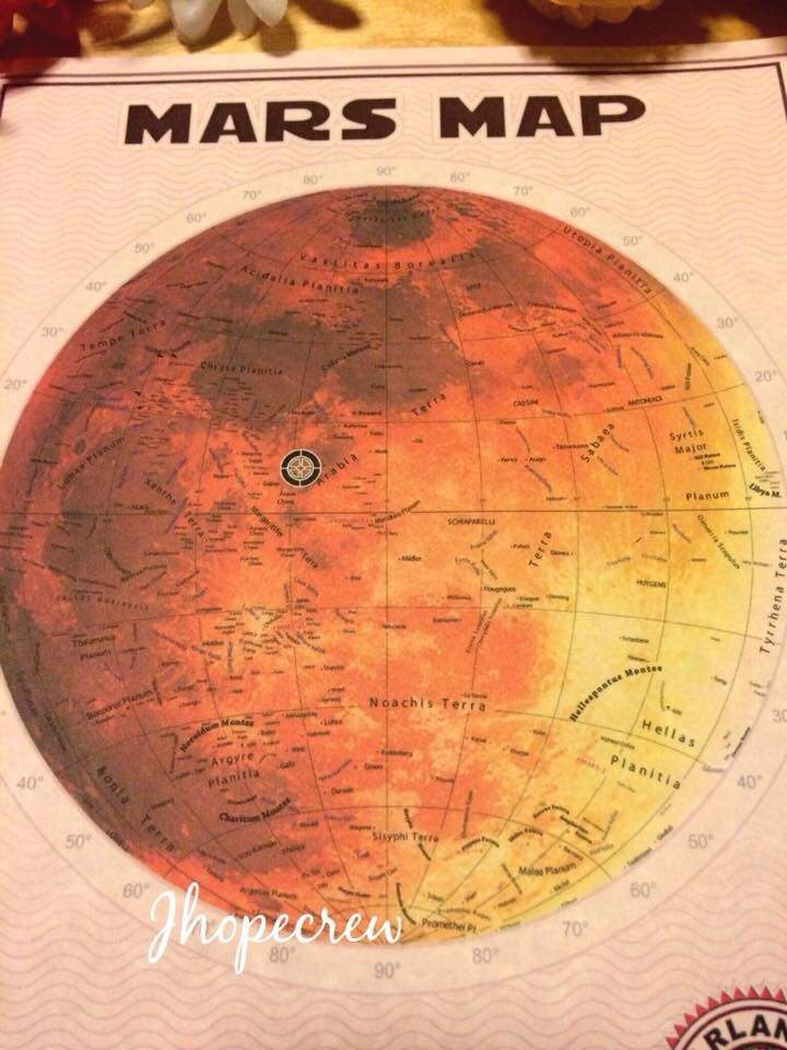 tanah di Mars buat Jungkook BTS