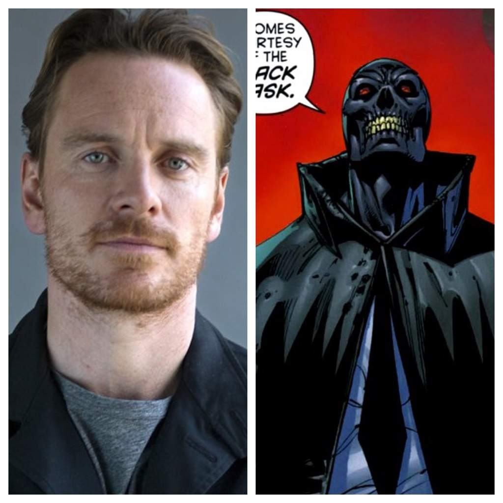 Black Mask: Michael Fassbender