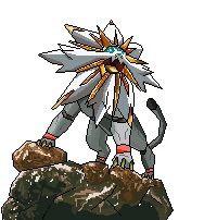 Pixel Solgaleo Pagedoll Pokémon Amino
