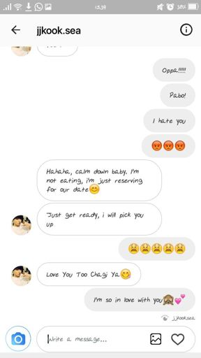 Love chat i i love