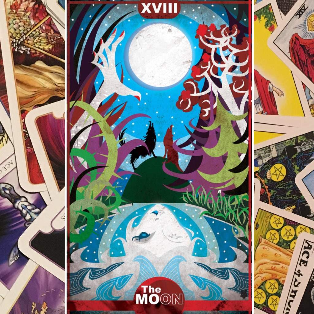 Daily Tarot: In the Moonlight | The Witches\' Circle Amino