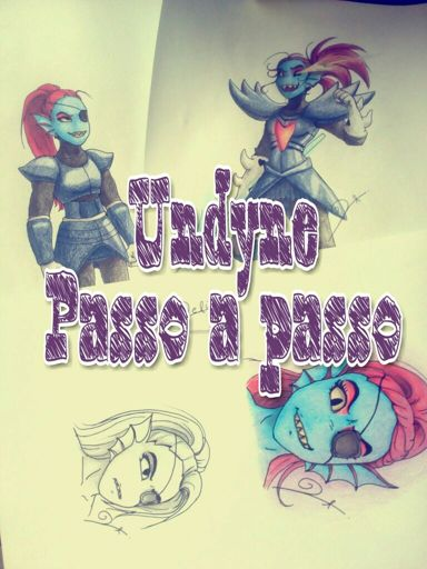 Undyne Passo A Passo Undertale Brasil Amino