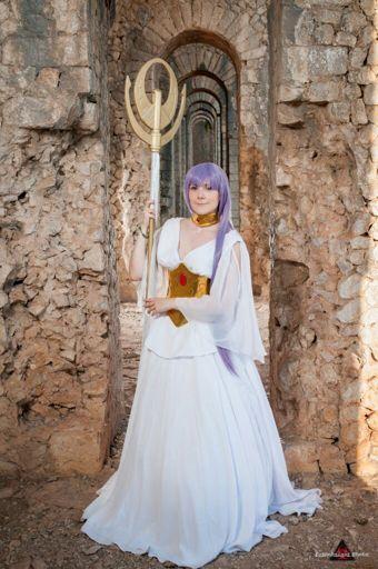 Sasha/Athena Saint Seiya The Lost Canvas   Wiki   Cosplay