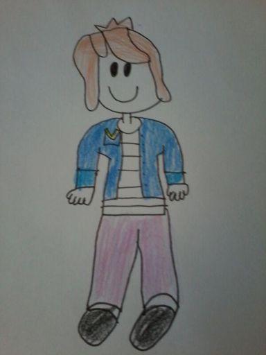 My Roblox Chestnut Bun Girl Drawing Roblox Amino