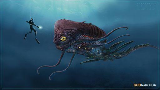 Concept Art Creature:Cyreberum | Subnautica Amino