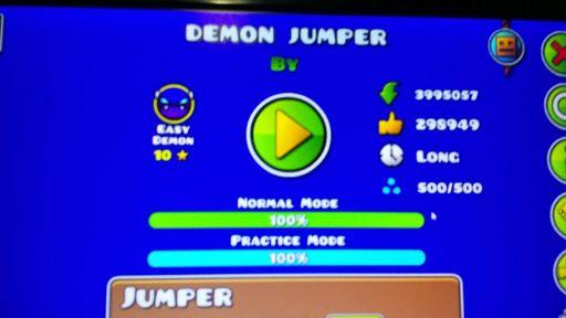 Demon Jumper 100% | Geometry Dash PT|BR Amino