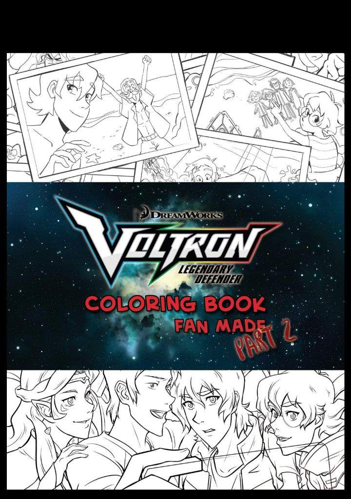 VOLTRON COLORING BOOK PROJECT. — THE VOLTRON COLORING BOOK PART 2 ...