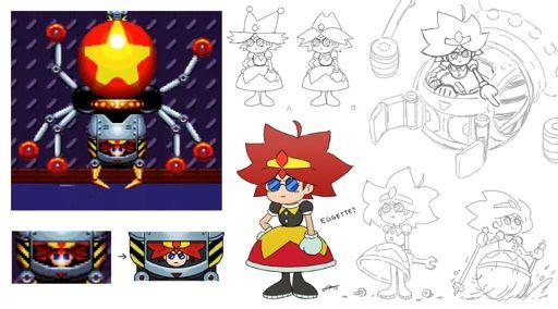Eggatha Quot Omelette Quot Robotnik Wiki Sonic The Hedgehog Amino