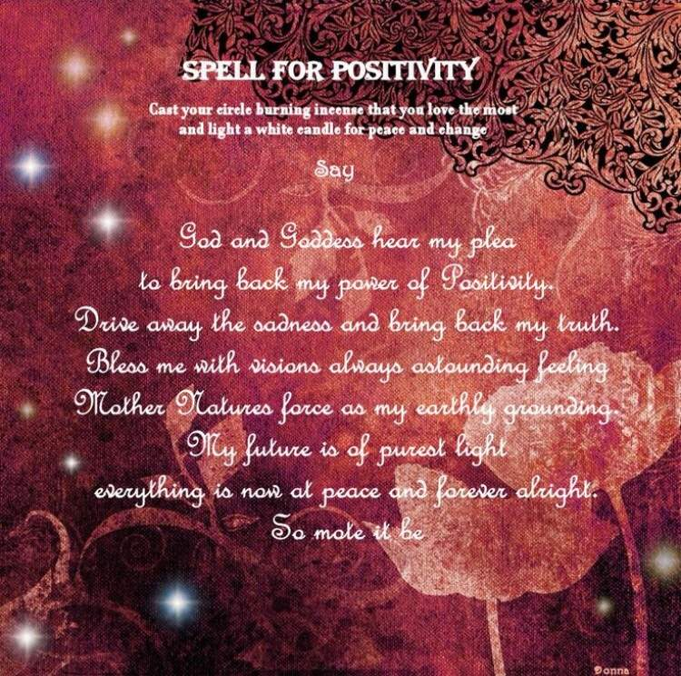 POSITIVITY ~ | Pagans & Witches Amino