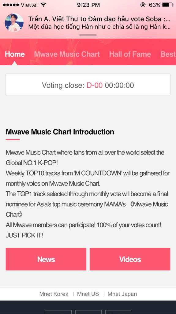 Vote Mwave Music Chart- Very Important | Igot7S' Amino