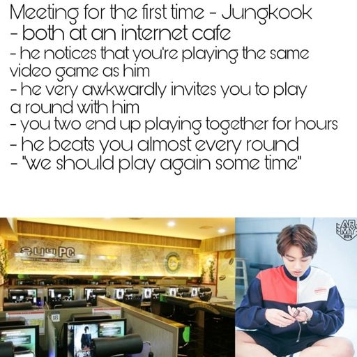 BTS Jungkook - meeting for the first time imagine | ARMY's Amino