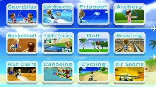 Nintendo switch wii sports