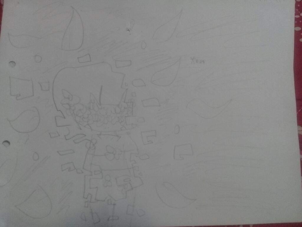 Flower Child Line Drawing : Merlin flower saatchi art