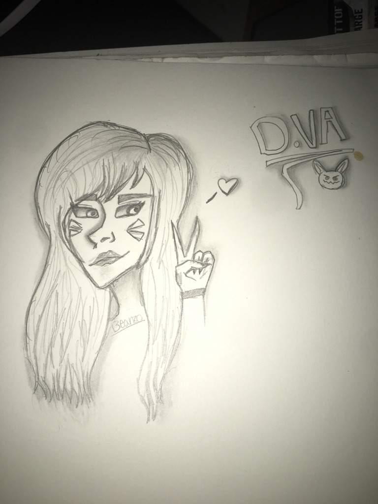 D Va Sketch | Overwatch Amino