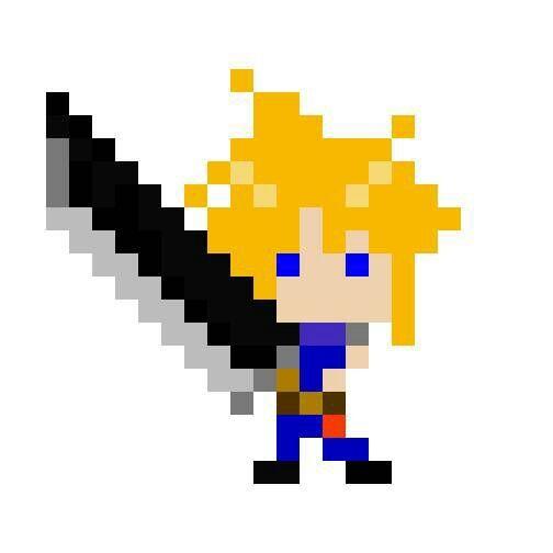 Pixel art test #1 and #2   Final Fantasy Amino