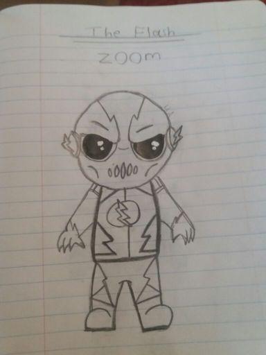 Zoom Drawing The Flash Amino