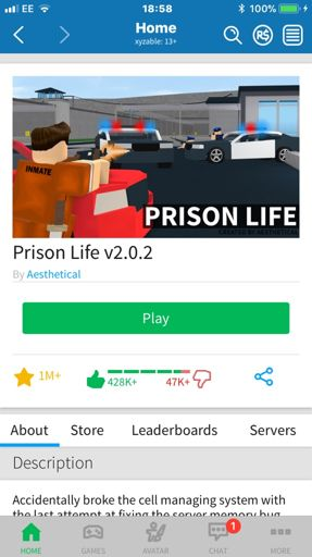 Roblox Old Page Going To The Old Jailbreak Roblox Amino