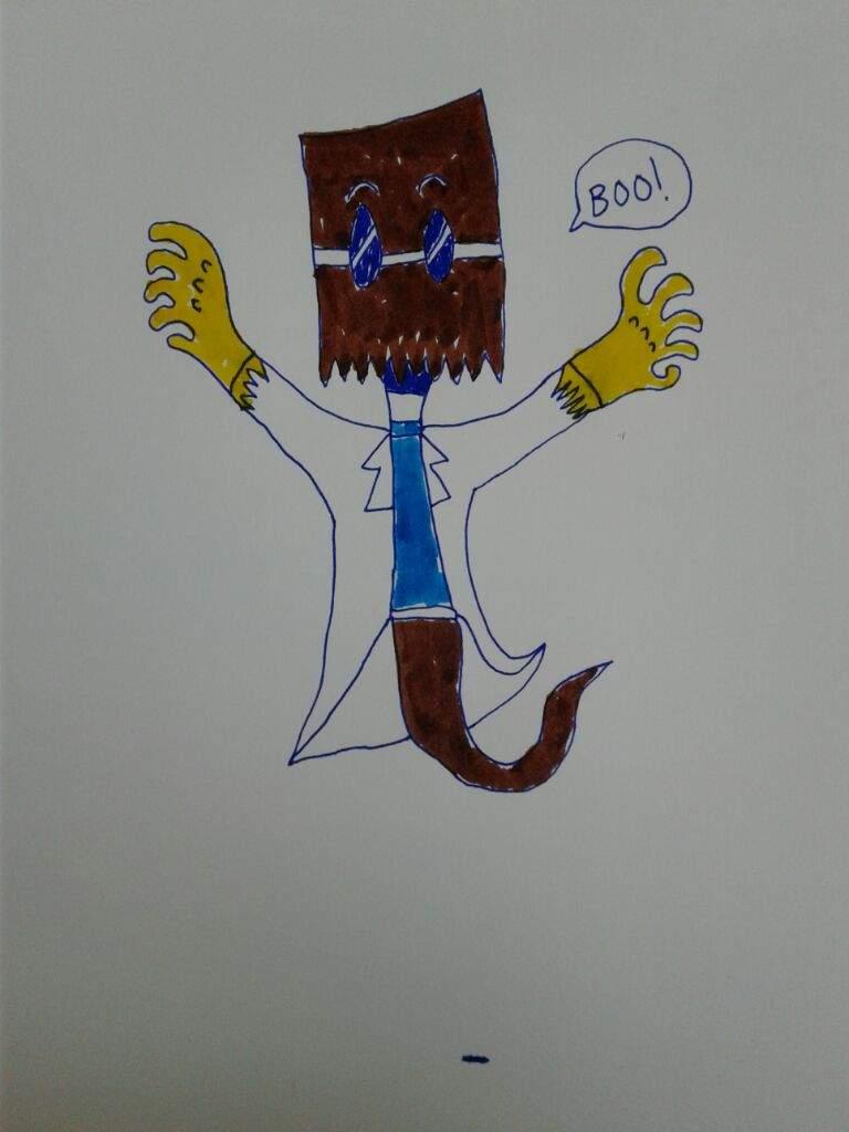 dr flug as a ghost  👻 | Villainous! Amino