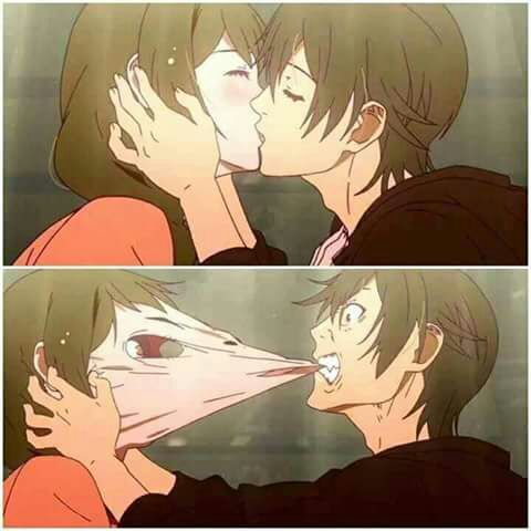 When The Guy Is Forced To Kiss The Girl Anime Amino