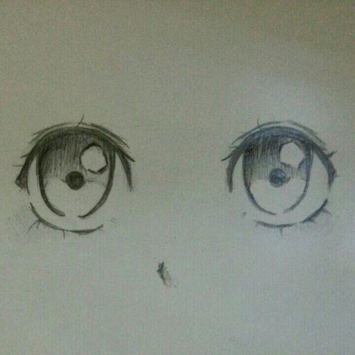 Tutorial How I Draw Cute Eyes Romance Anime Amino