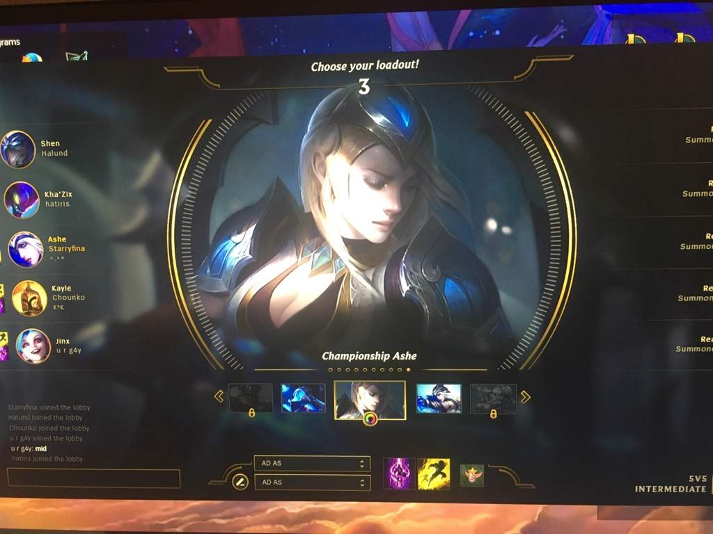 Championship Ashe is finally here!