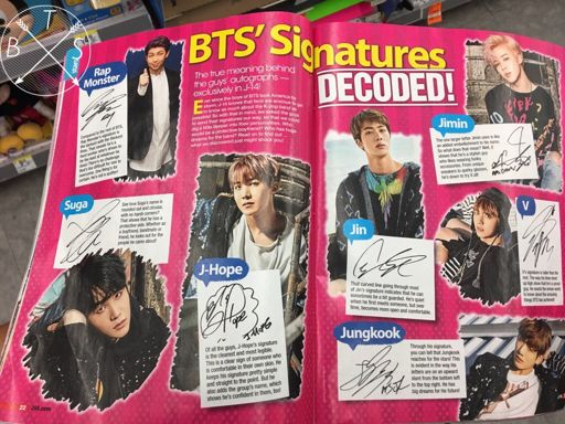 Saw the boys in a magazine in Walgreens and in a tablet in BJ's
