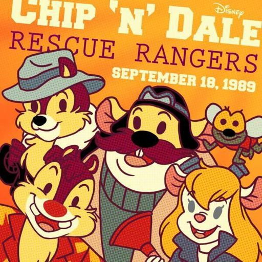 Happy Belated Birthday Chip N' Dale Rescue Rangers