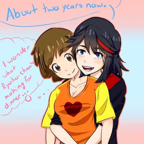 ryuko and mako relationship trust